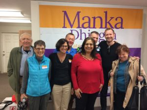36th shows up for Manka!