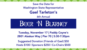 Gael Tarleton - Beer and Blarney