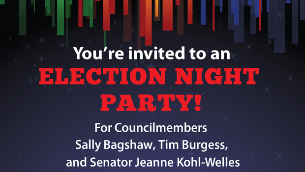 Jeanne Kohl Welles Election Night Party