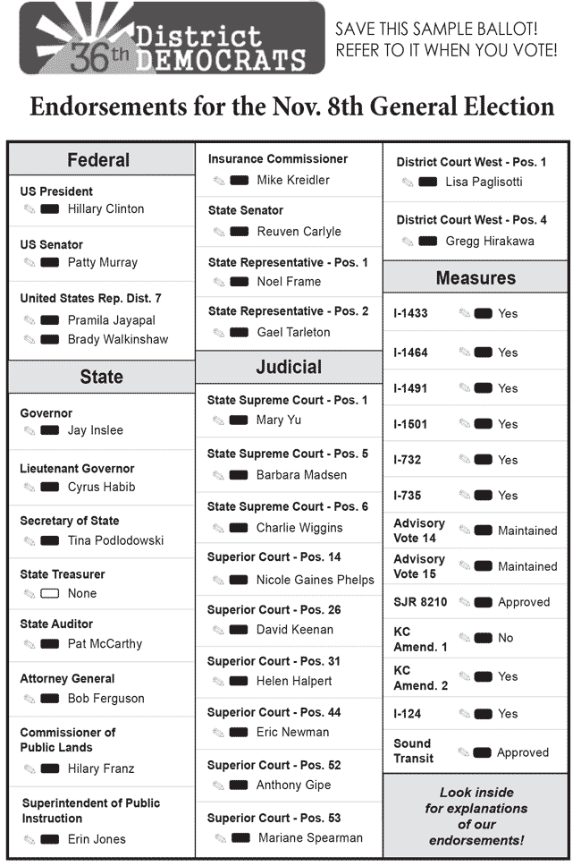 Sample Ballot - 2016 General