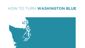 How to Turn Washington Blue